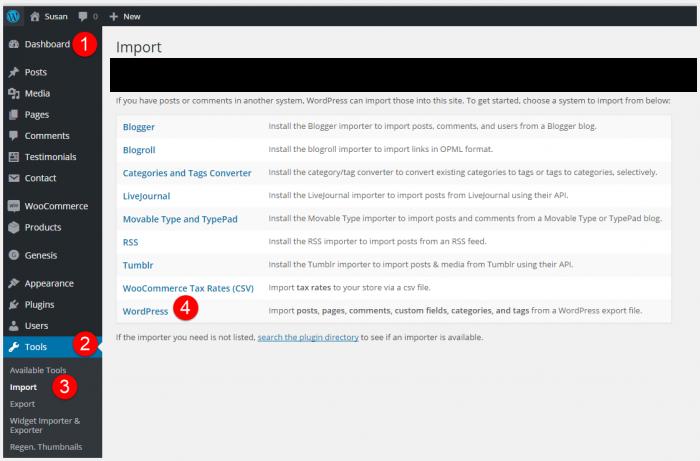 import-demo-content