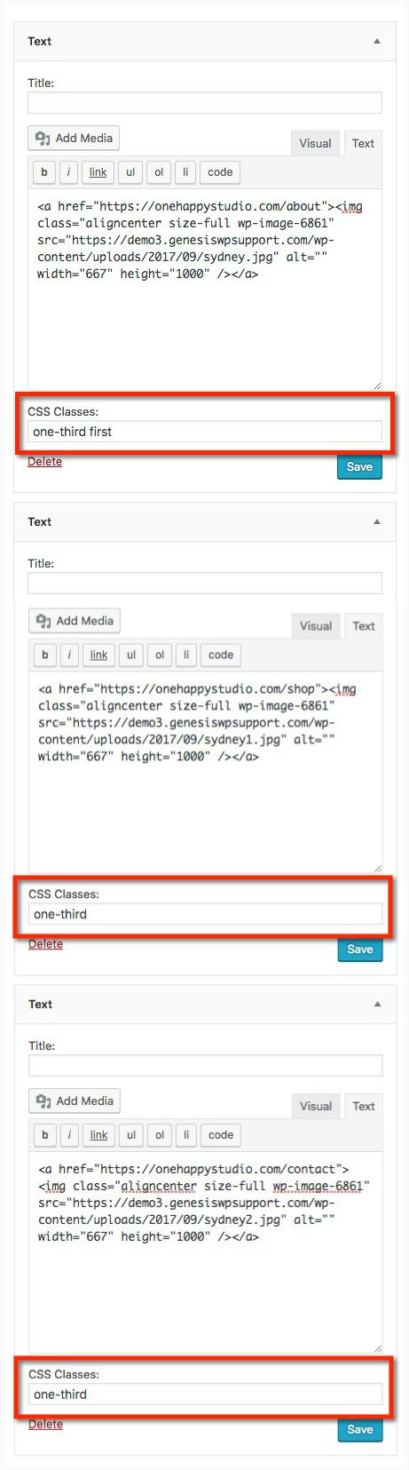 How To Add Custom Styles To Wordpress Widgets One Happy Studio