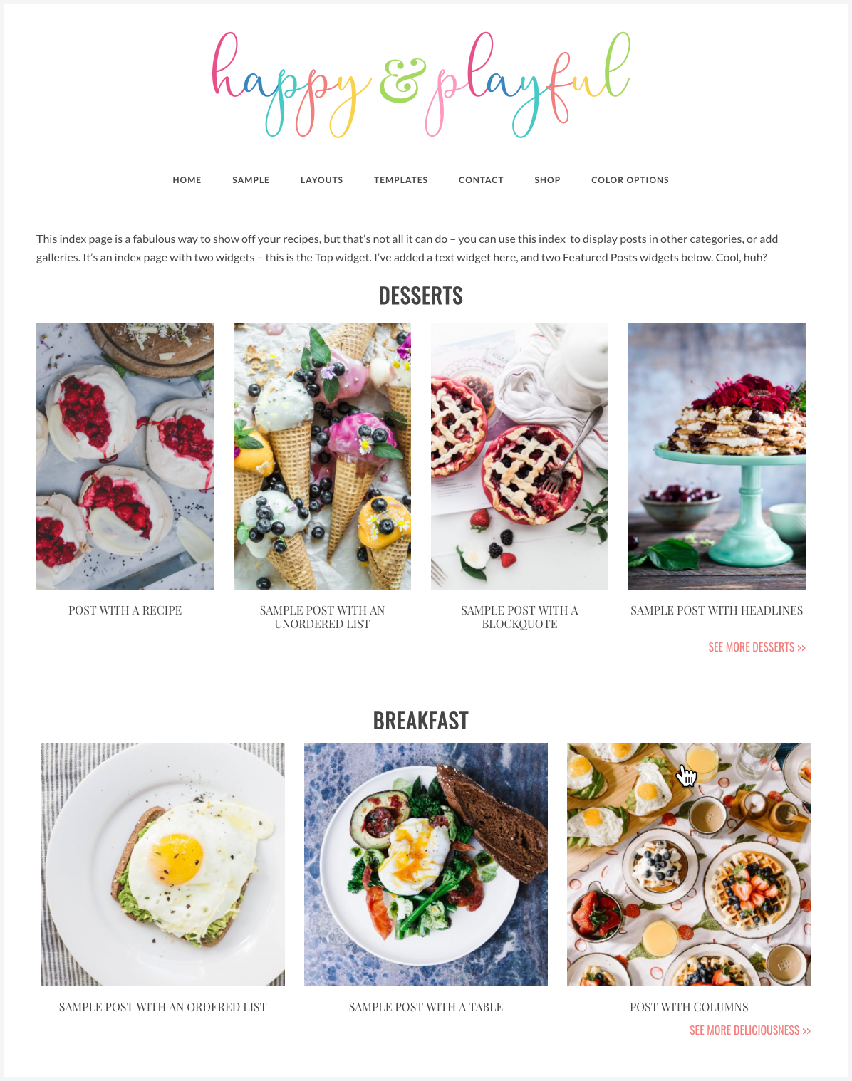 Introducing Happy & Playful … the perfect theme for the female entrepreneur